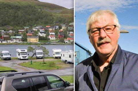 FIN JOBB: - Jeg begynner å nærme meg 70 år, det er en av de mest interessante jobbene jeg har hatt, sier Even, som håper campingplassen får være i fred.