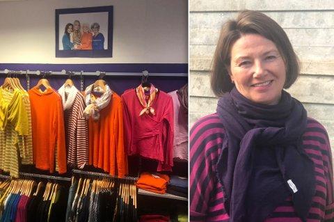 MER FRITID: Hun skal fortsatt selge klær, men Gunvor får mer frihet i sin nye arbeidshverdag.
