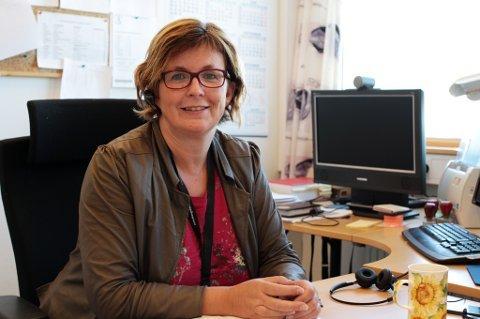 NY JOBB: Marit Zahl Jonassen skal fortsette å bo i Vadsø, også etter at hun starter i ny jobb i april.