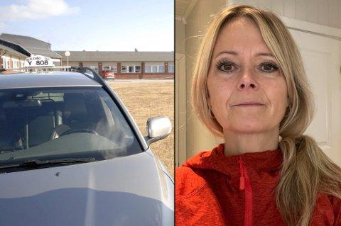 - SAMFUNNSPROBLEM: - Det er et samfunnsproblem, sier Tine Sofie Johansen om taxisituasjonen i Berlevåg.