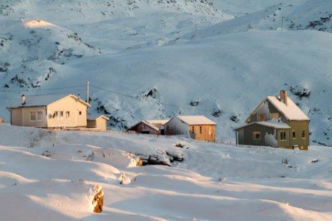 SOLGT FOR NESTEN SEKS MILLIONER: Veinesbukta 3 i Breivikbotn i Hasvik kommune eies nå av Cermaq Norway AS.