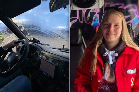 SLIK SÅ RUTA UT: Dette skjer med alle russebilene i Alta, forteller Rikke Pettersen.