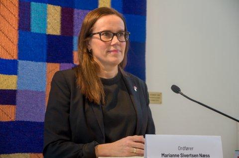 FORSTÅR FRUSTRASJONEN: Ordfører Marianne Sivertsen Næss forstår at både utelivsbransjen og gjestene er frustrert over at regjeringen har satt skjenkestoppen til klokken 22.00. Foto: Trond Ivar Lunga