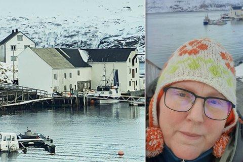BEBOER: Ann-Kristin Kvalsvik er fastboende i Akkafjord, og daglig leder av Johan Kvalsvik AS..