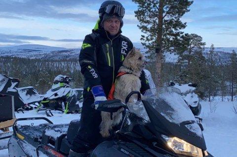BER OM LOVENDRING: Rune Thomassen er blant dem som stiller på markeringen. - Vi ønsker motorferdselsloven endret, og at kommunene får bestemme.