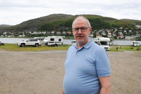 GJESTENE KOMMER IKKE: Daglig leder på Storvannet Camping i Hammerfest sier at det virker som at flere turister velger og ikke komme til Hammerfest i år på grunn av smitteutbruddet som var for noen uker siden.