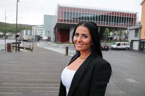 NY BYSELGER: Charlotte Marie Strømme er ny byselger i Hammerfest. Foto: Trond Ivar Lunga