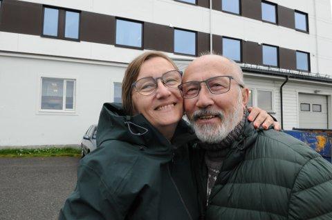 HER SKJEDDE DET: På søsterhjemmet ble Merete unnfanget da Jan var kjæreste med Meretes mamma. Foto: Trond Ivar Lunga