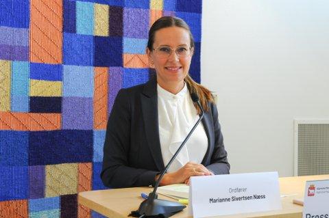HAR KONTROLL: Ordfører Marianne Sivertsen Næss sier kommunen har kontroll på smittesituasjonen i Hammerfest. Foto: Trond Ivar Lunga