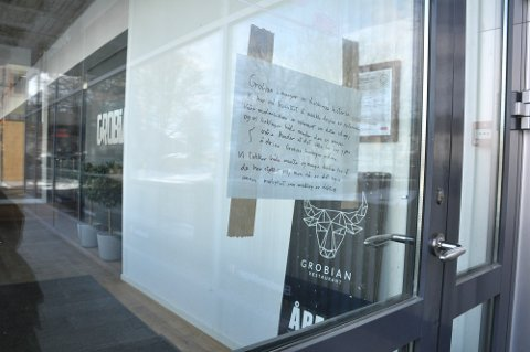 AVSLUTTET: Konkursen i Grobian Grillhuset AS ble åpnet 12. mars 2020. Det var selskapet selv som gikk til tingretten og ba om oppbud. Nå er bobehandlingen avsluttet.