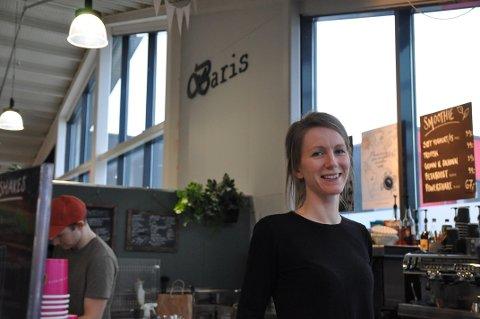 TØFFT ÅR:  Det har vært et tøft år, forteller Sara Frank, daglig leder av Baris, som egentlig heter Atlas Levanger AS.