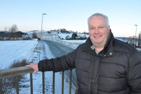 INN I LØYPEKJØRERSELSKAP: Alf Magnar Reberg fra Åsen trer inn i styret for Vulusjøen Løypekjøring AS.