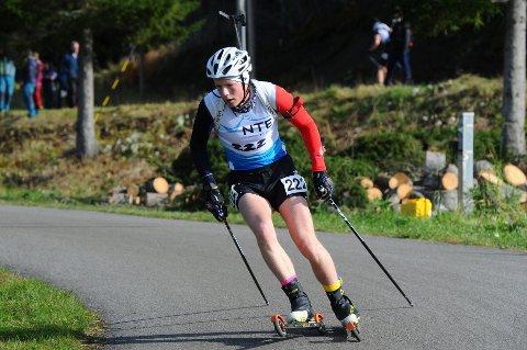 STERK: Einar Hedegart har gjort en solid treningsjobb og er godt i rute til kommende skiskyttersesong.