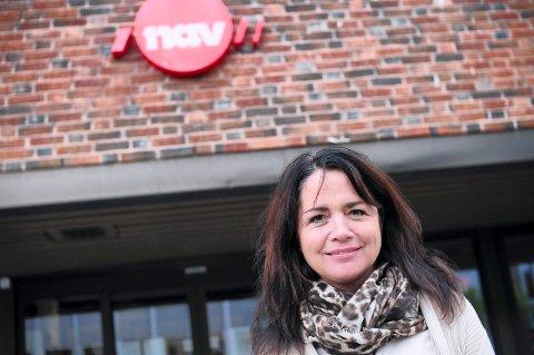 BEKYMRER: Det som bekymrer fungerende Nav-direktør i Trøndelag, May Beate Haugan, er at av deheltledige i Trøndelag  i juli har 33 prosent værtheltledig over 26 uker.
