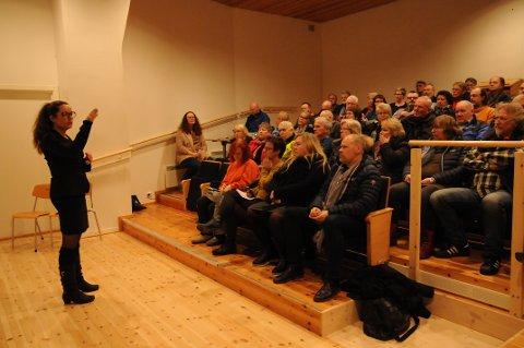 Fikk støtte: Ordfører Marianne Grimstad Hansen hadde Blaker-folkets medhold i å prøve å få til en overtagelse av Blaker Skanse.
