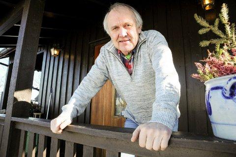 JUBILERER: Thorleif Haug fyller 70 år, og jobber nesten mer enn noen gang.