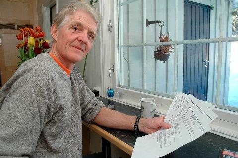 Superveteran: Etter en mangeårig innsats har Erik Holt gått ut av styret i Fet friidrettsklubb.Foto: Øivind Eriksen