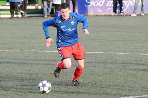 TAPTE: Espen Søgård scoret for Fet da laget tapte 2-6 i kveld. FOTO: ANITA JACOBSEN