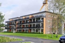 Støy: en beboer her i Bjørkelangen Park klager på støy fra byggeaktivitet.