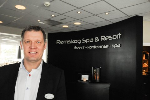 Hotellsjef Niclas Norman ved Rømskog Spa & Resort AS.