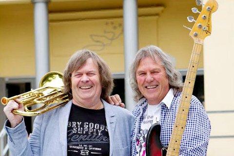 ILDSJELER: Odd H. Brubak (t.v.) og Tom Frogner i Lillestrøm Jazzklubb inviterer nok en gang til Ribbejazz i kultursenteret. En rekke lokale artister fra Indres distrikt opptrer under arrangementet.