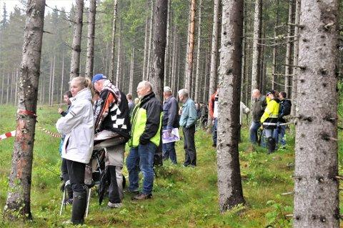 Stor interesse: Aurskog-Høland Rally pleier å samle flere tusen tilskuere.