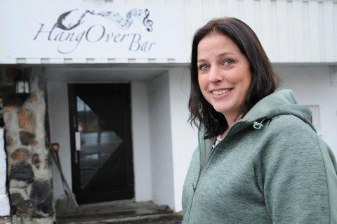 Drømmestart: Kristine Lian Hagen (38) i Hangover Bar på Bjørkelangen. Foto: Anita Jacobsen