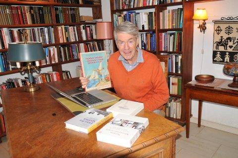 STADIG AKTIV: Hans Fredrik Dahls navn er med på å prege bokhøsten gjennom fire forskjellige utgivelser.