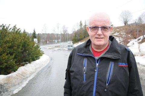 Positiv: Alf Øistein Kristiansen (51) gleder seg over livet, til tross for at han er alvorlig syk.