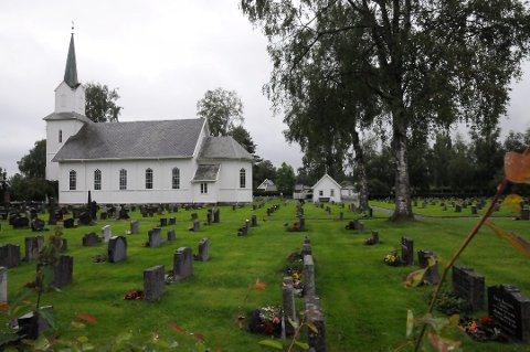 Kirkegården i Blaker skal oppgraderes.