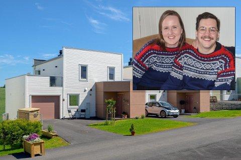 TILBAKE TIL BYEN: Martin Halla og kona Maria Therese Bersås må på leilighetsjakt i Oslo, når avgjørelsen om å flytte fra Årnes er tatt.