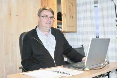 TAR ET NYTT ÅR SOM LEDER: Odd Arild Kongtorp har vært leder for AHFK siden klubben ble stiftet og 2021-sesongen blir intet unntak.