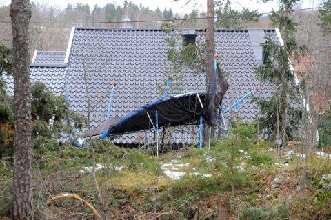 – Trampoliner bør alltid være sikret, sier meteorolog Ingrid Bentsen. Fra torsdag kveld vil Romerike oppleve til dels kraftige vindkast.