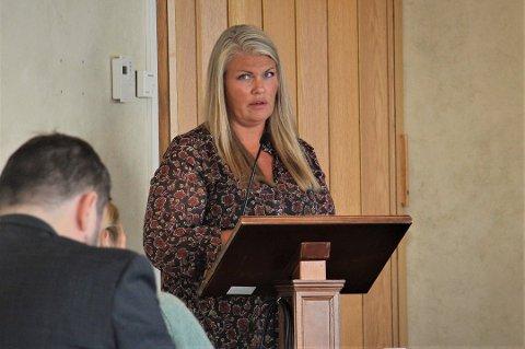 KOMMUNEOVERLEGE: Kirsten Toft i Alstahaug.