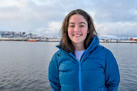 Frida Dalen Iversen (17) elsker å vokse opp på Helgeland så mye at du har et lite drøm om å  flytte fra landsdelen.