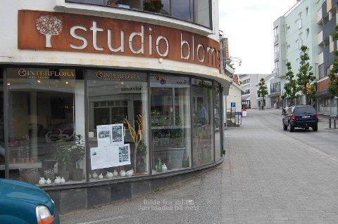 STOPPER: Studio Blomst er en av de tre butikkene som forlater Storgata i sommer.