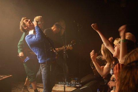 SLO ANN: Honningbarna-konserten slo bra ann blant jærbuen under Ranglarocken på fredag.
