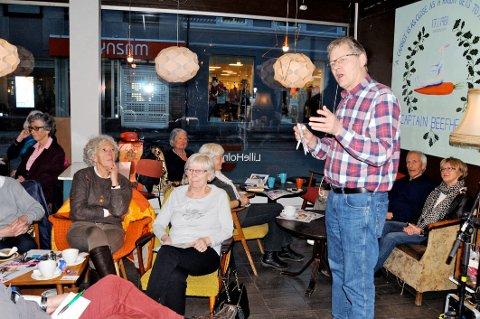 FIKK FORSLAG: Generalsekretær Harald Olimb Normann fikk mange forslag  om risikorydding fra de frammøtte.
