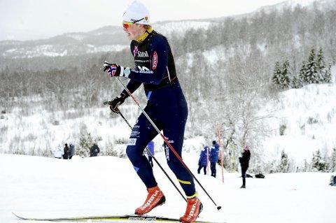 FORTSETTER til neste år: Kristian Glasius Hegg har bestemt seg for å fortsette langrennsatsingen selv om han har trøblet det siste halvåret. Foto: Svein Halvor Moe
