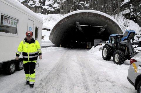 BYGGELEDER: Øyvind Pettersen-Dahl er leder for tunnelprosjektet.