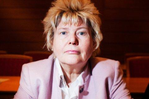 ØNSKER INGEN FLYKTNINGER: Ingfrid Oddveig Tveit (Frp) uttalte at hun er «sterkt imot flere flyktninger» i Ullensaker.