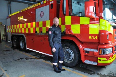 FIKK JOBBEN: Anders Løberg (47) har takket ja til jobben som brann-og redningssjef. 47-åringen har lang erfaring innen beredskap og krisehåndtering.