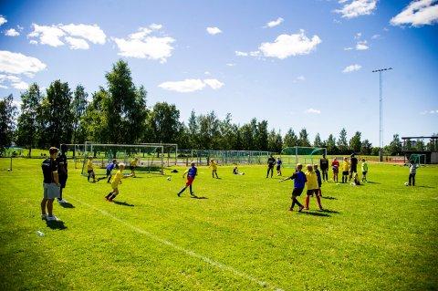 STENGT NED: Også barneidretten er stengt i Ullensaker. Til høsten håper idrettsrådsleder Jan Ivar Engebretsen at alle aldersgrupper kan drive idrett som normalt.