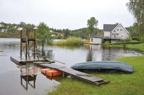 Mye vann: Brødsjø i Kroken. Foto: Per Eckholdt