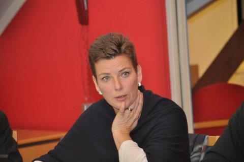 Refset: Henriette Fluer Vikre (Frp) refset kultursjefen.