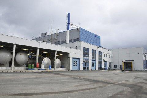 UTSLIPP: Utslippene fra fabrikken på Fikkjebakke har i lang tid ligger over grensene i utslippstillatelsen. Nå har et nytt utslipp ført til at produksjonen av metformin har stanset opp. ARKIVFOTO: PER ECKHOLDT