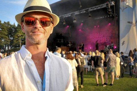Optimistisk: Festivalsjef for Kragerø Live, Kurt Olsen, har troen på at Kragerø er det rette stedet for en retrofestival, selv om sommerens festival gikk dundrende underskudd.