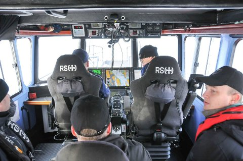 REDNINGSSKØYTA: Denne redningsskøyta som er stasjonert i Kragerø, kan komme til å alternere mellom Kragerø og Croftholmen hvis base der blir en realitet. (Foto: Lars Løkkebø)