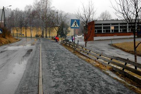 Politiet hadde trafikkontroll på Kalstadveien. Illustrasjonsfoto