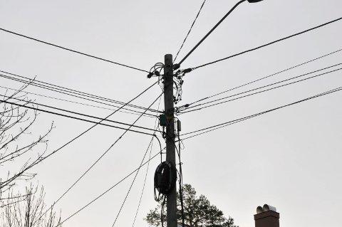 Ledninger strømledninger kraftoverføring